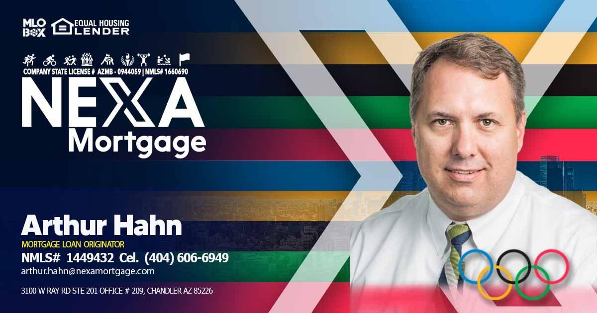 Arthur Hahn | Mortgage Loan Officer ✅ 1449432 📞404-606-6949